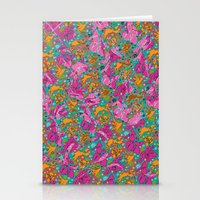 Flower Paisley 1 Stationery Cards