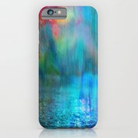 iPhone & iPod Case featuring Rain Curtain by Klara Acel