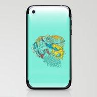 Jurassick Puke iPhone & iPod Skin