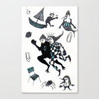 Fuite Du Roi Canvas Print
