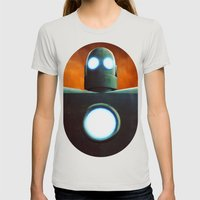 Stobot Womens Fitted Tee Silver SMALL