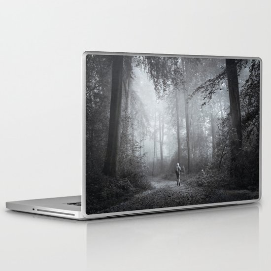seeking silence Laptop & iPad Skin