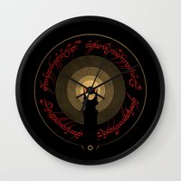 The Lord of the Rings Wall Clock