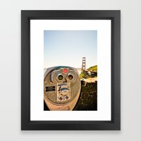 San Francisco. Framed Art Print