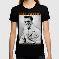 Sith Lords Of The World … Womens Fitted Tee Black SMALL