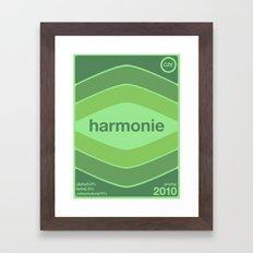 harmonie single hop Framed Art Print