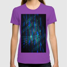Cyber City Womens Fitted Tee Ultraviolet SMALL