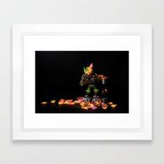 tactical error Framed Art Print