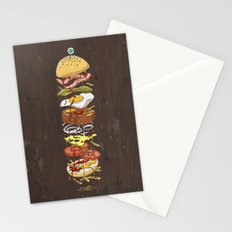 Burger Stationery Cards