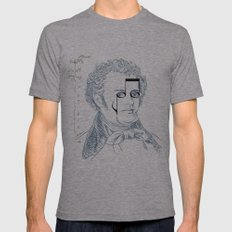 Franz Schubert Mens Fitted Tee Athletic Grey SMALL