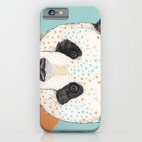 iPhone & iPod Case featuring Polkadot Panda by Sandra Dieckmann