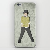 boys formal wear lime plaid iPhone & iPod Skin