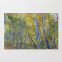 Blue Grove Canvas Print
