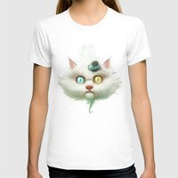 lady gaga T-shirts featuring Release the Odd Kitty!!! by Dr. Lukas Brezak