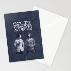 Scott Pilgrim Vs The World Stationery Cards