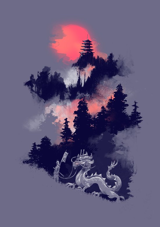 Samurai's life Canvas Print