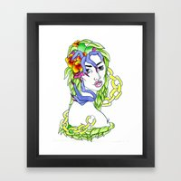 Teach Me Framed Art Print
