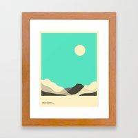 GLACIER NATIONAL PARK, LAKE MCDONALD Framed Art Print