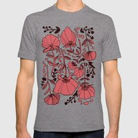 Nature Mens Fitted Tee Tri-Grey SMALL