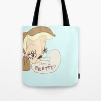Am I Pretty? Tote Bag