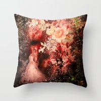 Into The Stars Throw Pillow
