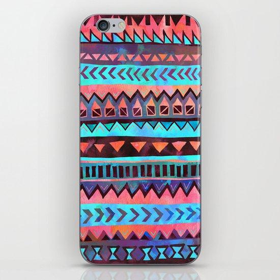 PATTERN {Tribal Stripe- Aqua} iPhone & iPod Skin