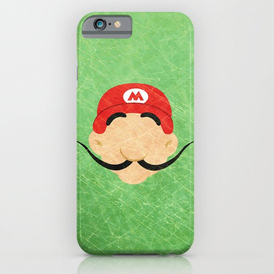 Grand Mustache iPhone & iPod Case
