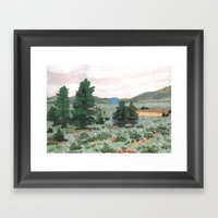 The Coast Starlight Framed Art Print