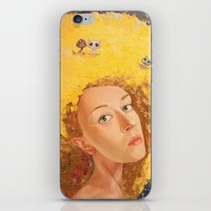Yellow Selfportrait  iPhone & iPod Skin