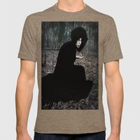 The Witch In The Woods Mens Fitted Tee Tri-Coffee SMALL