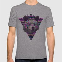 Piñata BEAR  Mens Fitted Tee Athletic Grey SMALL