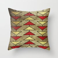 Navajo Arrows Throw Pillow