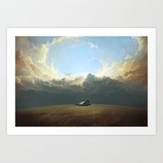 At World's End Art Print