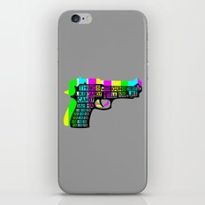 Guns And Candy iPhone & iPod Skin