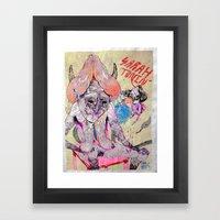 O Hey Framed Art Print