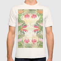 Grow As You Are Mens Fitted Tee Natural SMALL