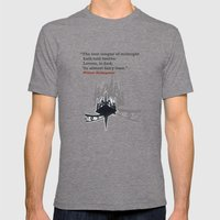 Fairy Time Mens Fitted Tee Tri-Grey SMALL