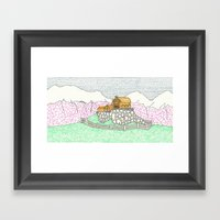 Edoras Framed Art Print