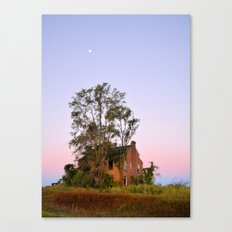 Moon Over Sheffield Canvas Print