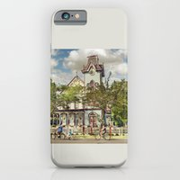 iPhone Cases featuring Setting Out by Maggie Green