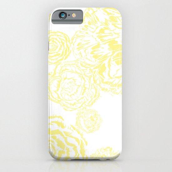 Bloom - Yellow iPhone & iPod Case