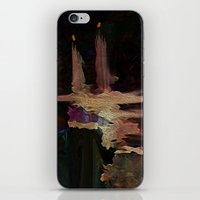 Darkness In The Old City iPhone & iPod Skin