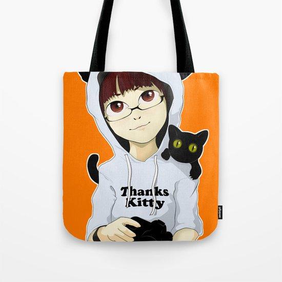 thanks kitty - i like photography Tote Bag