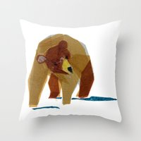 Linus Bear Throw Pillow