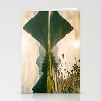 Mountain Reflecting The … Stationery Cards