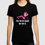 Abaddon / Abbadon - Supe… Womens Fitted Tee Black SMALL