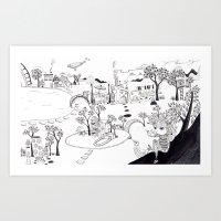My Own Wonderland... Art Print
