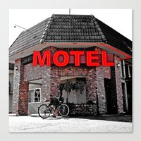 Canvas Print featuring Motel cruiser by Vorona Photography