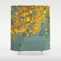 Sunshine And Clouds Shower Curtain
