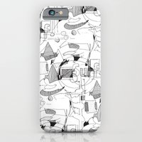 Drawing Collage iPhone 6 Slim Case